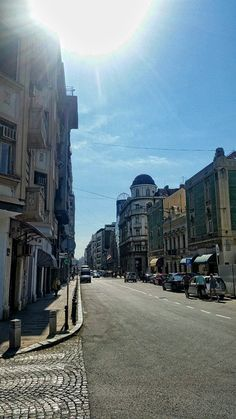 In da hood.  Uzun Mirkova street and begining of our street Cara Urosa.   #Belgrade #streets #HostelFriends
