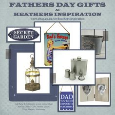 Heathers Inspiration (@Hea_Inspiration) | Twitter    Ideas for Fathers Day Gifts x