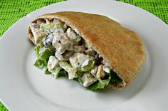 Clean Eating Chicken Salad--the pepper and garlic powder were a little overpowering, in my opinion. Next time I'm going to reduce the amount of both.