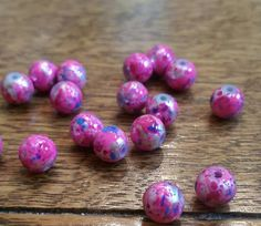 $2.15 Check out this item in my Etsy shop https://www.etsy.com/listing/216249745/8mm-pink-glass-drawbench-beads