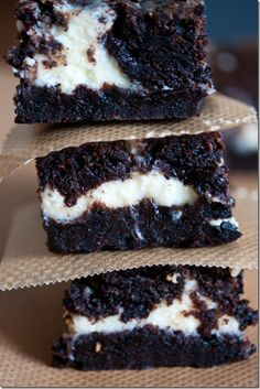 Oreo & Cream Brownies
