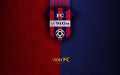 Download wallpapers FC ViOn, FC, 4k, Slovak football club, ViOn logo, leather texture, Fortuna liga, Zlate Moravce, Slovakia, football