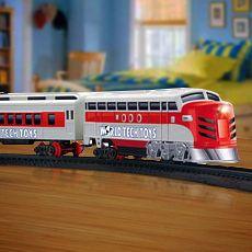 Electric Luxury Lights & Sounds Train Set