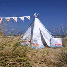 Play tents and teepees from www.izabelapeters.com