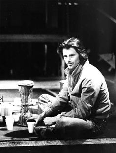 """Playwright Sam Shepard, shown in 1980 just as the Magic Theatre was about to stage the world premire of his play """"True West. Fred Ward, Sam Shepard, New York Times Magazine, Mr Darcy, Writers And Poets, Portraits, Black Books, Por Tv, Playwright"""