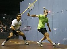 Play without hindering your opponent - Squash