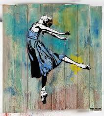Artist Blek le Rat ...Paris