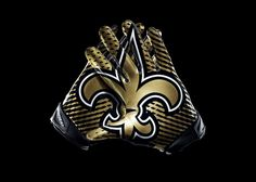 Mens New Orleans Saints Nike NFL Vapor Jet 3.0 Authentic Gloves