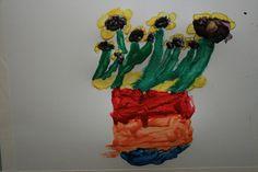 vincent can gogh art study: Impasto style
