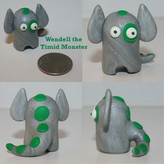 Wendell the Timid Monster by TimidMonsters.deviantart.com on @deviantART