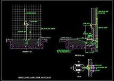 Construction Detail of Indian Water Closet with Flush valve. Showing Plan, Elevation and sectional plumbing details of connecting pipes like soil pipe, Flush Pipe etc. Pavilion Architecture, Organic Architecture, Architecture Portfolio, Futuristic Architecture, Contemporary Architecture, Pvc Pipe Fittings, Green Building, Autocad, Detail Design