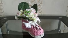 Плетеный ботинок