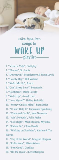 Hitting the snooze a lot in the #morning ? Try this #playlist to #wakeupandmakeup !