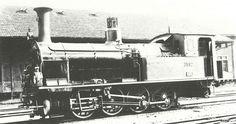 SBB Ed 4/4 Nr. 7592, vorher Nr. 62 der VSB. Die vierfach gekuppelten Tendermaschinen, von der vier Stück bei den Vereinigten Schweizerbahnen im Betrieb waren, wurden zur Zugförderung auf der Steigungsstrecke Borschach–St. Gallen eingesetzt. Der Badstand betrug 4 m, das Gewicht rund 50 t.