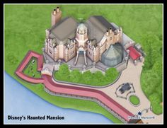 Google Map Disneyu0027s Haunted Mansion