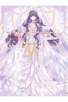 Manga is simply the Japanese version of comic books or graphic novels. Cardcaptor Sakura Clear Card, Sakura Card Captors, Sakura Kinomoto, Syaoran, Anime Art Girl, Manga Girl, Anime Angel Girl, Anime Girls, Beautiful Anime Girl