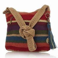 Louca por artes - Bolsas: Bolsas de Crochet