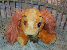 Vintage stuffed dog from Lady and the Tramp by Daysgonebytreasures, $12.00