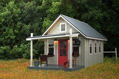 Kanga Studio | Prefab Cottage Kits | Kanga Rooms - Backyard Office-Guest House-Pool House-Art Studio-Garden Shed-Tiny House