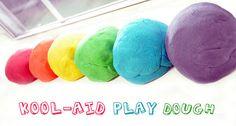 How to make Kool Aid Play Dough