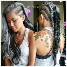 Stunning hair colors by Bescene creative team, USA!   The HairCut Web!