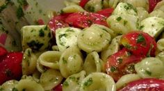 Caprese Pasta Salad Recipe - Laura in the Kitchen