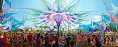Ozora The living stage Rainbow Riders, Psychedelic Decor, Live Life, Festivals, Most Beautiful, Fair Grounds, Decorations, Google Search, Board