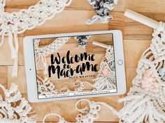 Happy launch-day to my newest online class! ✨🌟 I'm SO excited to introduce you to Welcome to Macrame. This class has it ALL. I cover over 40 techniques! Basic knots. Advanced knots. Combining knots to make patterns. Troubleshooting. Of course I couldn't stop there... This class also includes how to add weaving to macrame. How to add macrame to tapestries. And a completely new method of macra-weaving that I have never shown before! Believe me when I say, it's incredible and you need to try…
