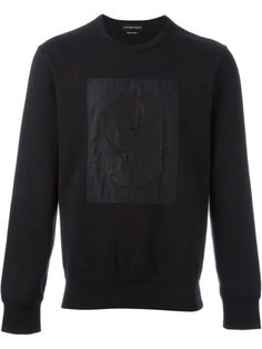 ALEXANDER MCQUEEN 9 Patch Sweatshirt. #alexandermcqueen #cloth #sweatshirt