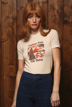 70's Freedom Trail Camp Tee
