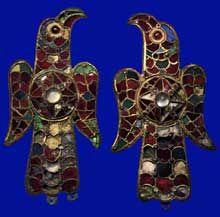 Fibules wisigothes trouvées à Tierra de Barros en Estrémadure. Baltimore, The Walters Art Galler