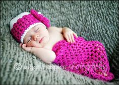 Crochet Hat PATTERN Cocoon Photo Prop Set Newborn Baby Cocoon Pod Hat Pattern PDF 410 Right to Sell Finished Items