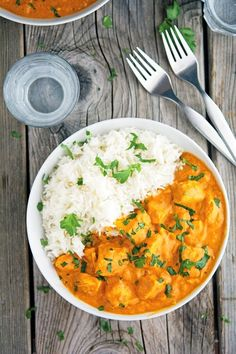 Curry up and get dinner sorted. Tikka masala.