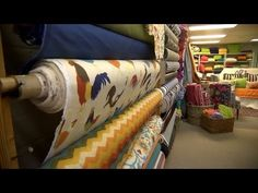 Cover a roller shade with fabric - I'm doing this for Maggie's room.