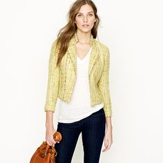 I love a Classic Chanel Jacket...J.Crew Spring Things!