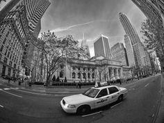 """""""Fisheyed"""" View of New York City..."""