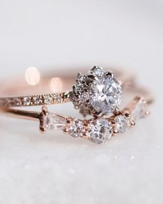 Vintage-inspired engagement ring!