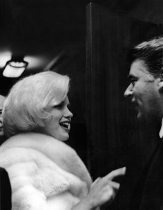 Marilyn and Peter Lawford at JFK's Birthday Gala, Madison Square Garden, NY, May 19th 1962.