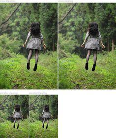 本日の浮遊 (3D) Today's Levitation (3D) | よわよわカメラウーマン日記