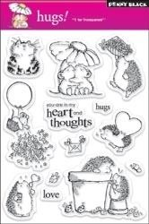 30-020 PB Clear Stamps Hugs