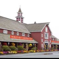 """Yankee Candle in Deerfield, Massachusetts      Stopped and shopped various times on way back from visits to daughter's in VT.  They have an awesome Christmas shop inside, along with tons of candles.  They call it """"the scenter of New England""""."""
