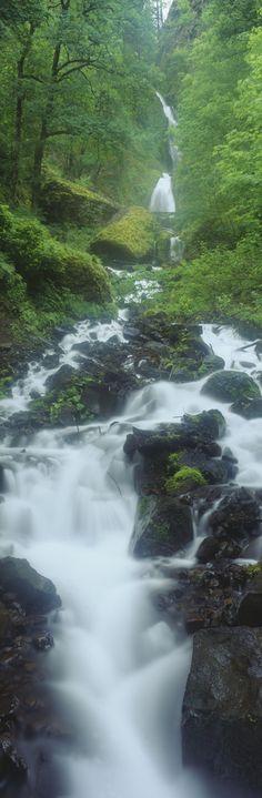 Northern Falls at Silver Falls State Park, Salem, Oregon