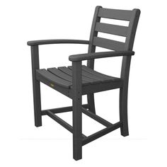 Trex Outdoor Furniture Recycled Plastic Monterey Bay Dining Arm Chair - TXD200CW