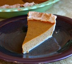 This recipe for Maple Pumpkin Pie is a lighter, low fat, maple-flavored version of the classic pumpkin pie. Photograph and nutritional information included.