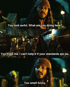 pirates of the caribbean quotes Best reply when you DON'T KNOW WHAT TO SAY