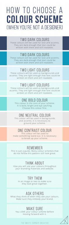 Your colour scheme i