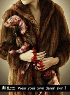 Even faux fur has been mislabeled! Dont buy fur!