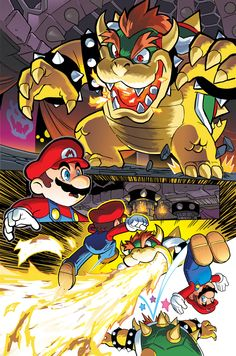 Mario comic by BenBates.deviantart.com on @DeviantArt