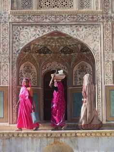 Jaipur Amber Fort. One of my favourite places I visited in India! ♥