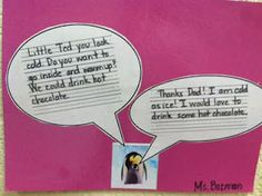 Caption Creations as part of a writing station. FREE download!  Makes me miss teaching 2nd grade!
